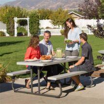 Összecsukható asztal és sörpad szürke