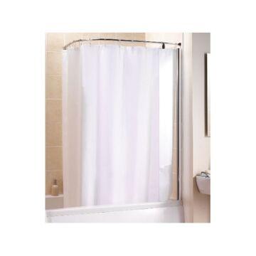 Zuhanyfüggönytartó L alakú 80x80 cm