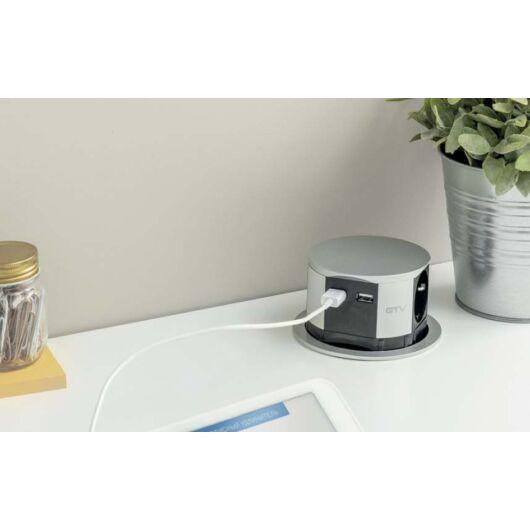 COMFORT kihúzható elosztó + USB