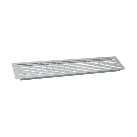 D50-100 inox szellőzőrács 500 x 100 mm