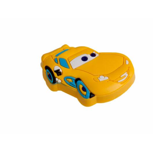 Sárga verdás autó fogantyú