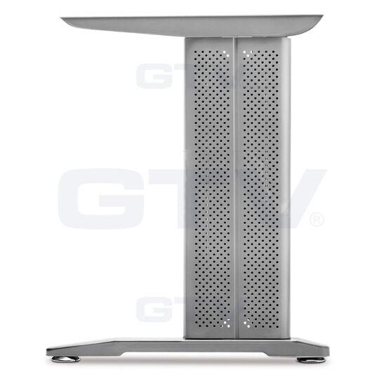 Íróasztalláb ezüst színű