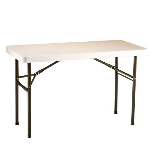 Összehajtható asztal 122 x 61 cm
