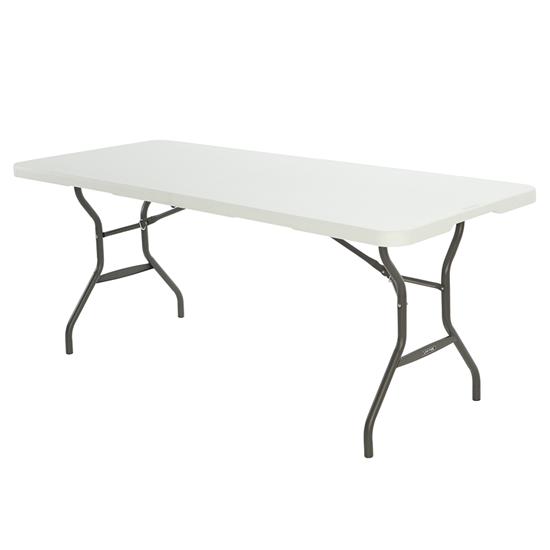 Félbehajtható asztal 183 x 76 cm