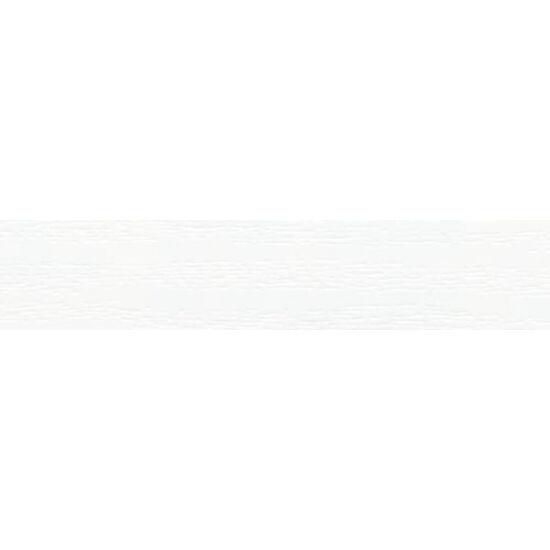 Erezett fehér ragasztózott élfólia