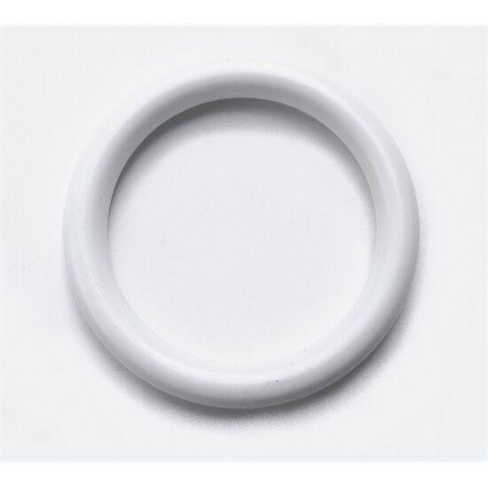 Függönykarika műanyag fehér 30/45 mm