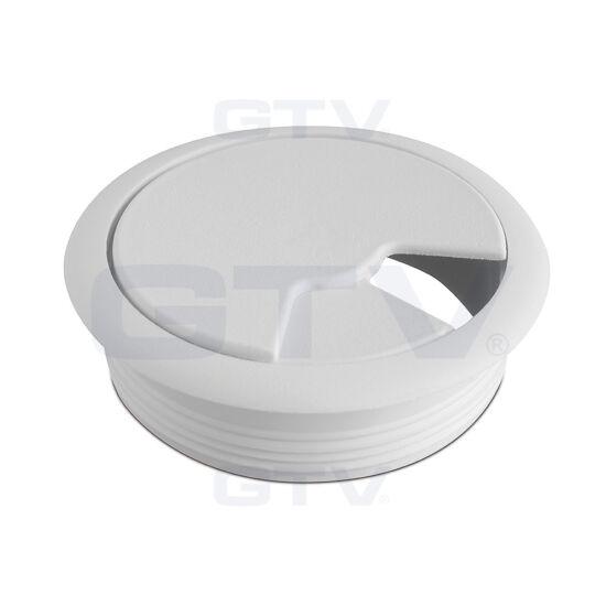 Wenge kábelkivezető műanyag 60 mm